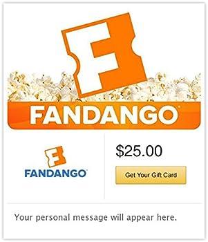 $25 Fandango eGift Card