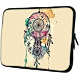 "Snoogg Dream Catcher Colourful 13"" 13.5"" 13.6"" Inch Laptop Notebook Slipcase Sleeve Soft Case Carrying Case For Macbook Pro Acer Asus Dell Hp Sony Toshiba"