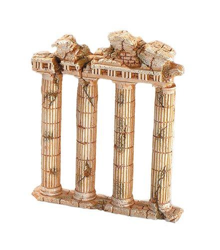 europet bernina d cor pour aquarium en polyr sine colonnes en ruine 7 185 x 42 x 225 mm. Black Bedroom Furniture Sets. Home Design Ideas
