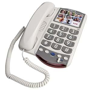 Clarity P400 - Corded Phone (DE5811) Category: Single Line Corded Telephones
