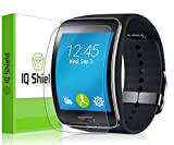 IQShield Protective Screen Guard for Samsung Gear S - Frustration-Free Retail Packaging