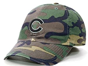 Chicago Cubs Camouflage Franchise Fitted Cap by