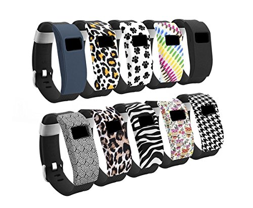 getwow-10-pack-band-cover-case-for-fitbit-charge-fitbit-charge-hr-slim-designer-sleeve-protector-acc