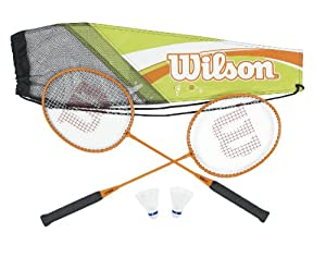 Wilson Adult's All Gear Badminton Kit (2-Piece)