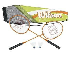 Buy Wilson Adult's All Gear Badminton Kit (2-Piece) by Wilson