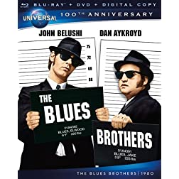 The Blues Brothers [Blu-ray + DVD + Digital Copy] (Universal's 100th Anniversary)