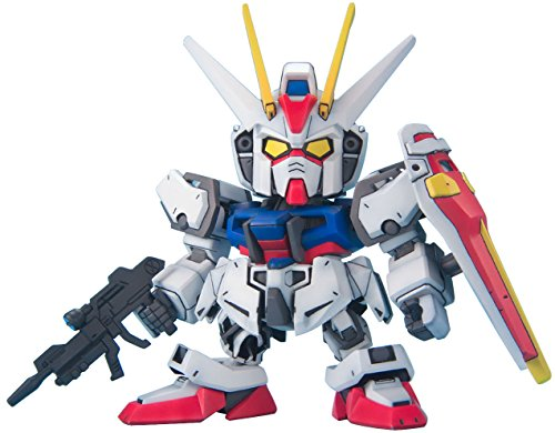 "Bandai Hobby SD BB Senshi #246 Strike Gundam ""Gundam Seed"" Model Kit - 1"