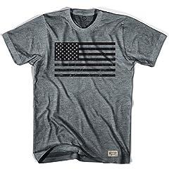 American Black Flag Soccer T-shirt