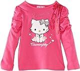 Charmmy Kitty - Camiseta para niña, talla 6 Years - talla inglesa, color rosa (carmine rose)