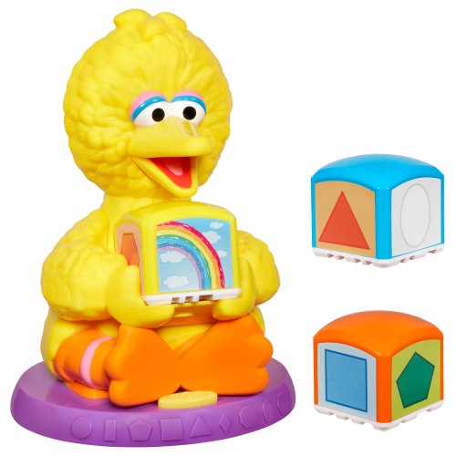 Sesame Street - Big Bird Learn & Color Shape Blocks - 1