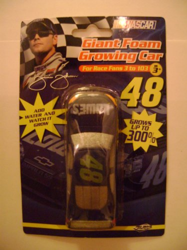 Jimmie Johnson 48 Giant Foam Growing Car (For Race Fans 3 to 103)