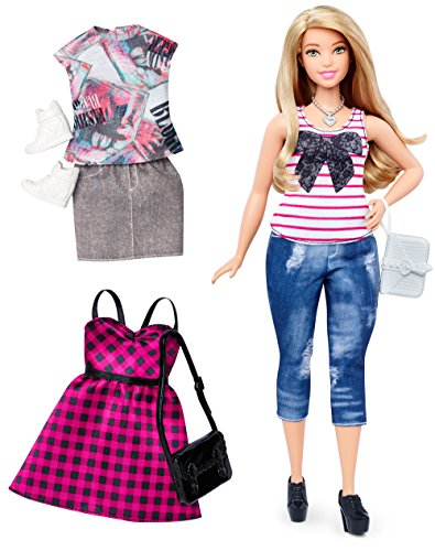 Barbie DTF00 - Bambola Fashionista e Moda - Jeans