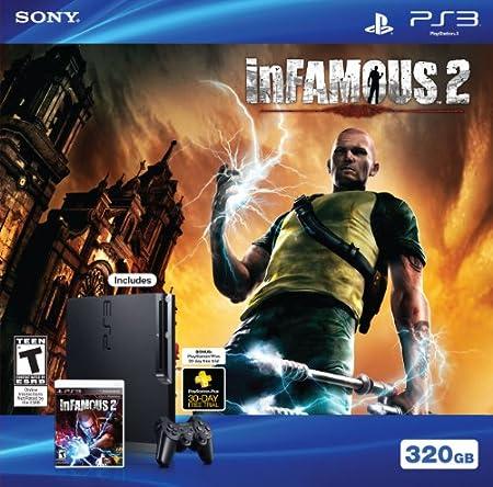 PS3 320GB Infamous 2 bundle