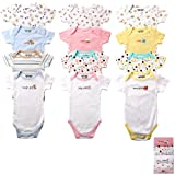 Luvable Friends 4-Pack Bodysuits