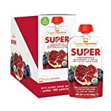 Happy Squeeze On-The-Go Superfoods, Pomegranate, Blueberry and Pears, 3.5 Ounce (Pack of 12)