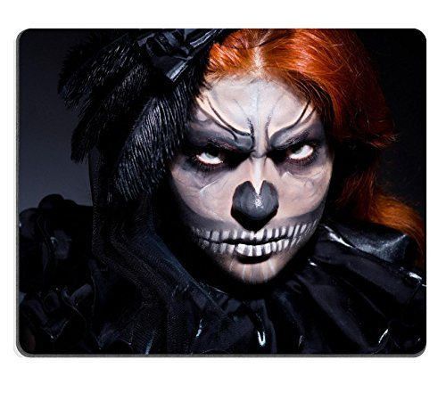 [MSD Natural Rubber Gaming Mousepad Scary monster in dark room Image ID 23711936] (Danger Mouse Halloween Costume)