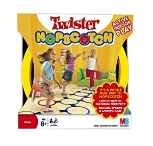 Twister Hopscotch! A Whole Way To Play Hopscotch! By MB Games. from MB Games