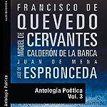 Antología Poética III [Poetic Anthology III] | Francisco de Quevedo,Miguel de Cervantes,Calderon de la Barca,Juan de Mena,José de Espronceda