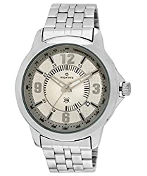 Maxima Analog Silver Dial Mens Watch - 24113CMGI