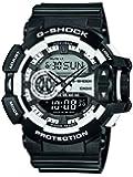 Casio - GA-400-1AER - G-Shock - Montre Homme - Quartz Analogique - Digital - Cadran LCD - Bracelet Résine Noir