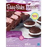 Playskool Easybake Ultimate Oven Devils Food Cake & Strawberry Cake Mix