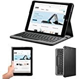 Anker® Bluetooth Folio Keyboard Case for iPad Air with 6-Month Battery Life Between Charges and Comfortable Low-Profile Keys TC980 (Not compatible with iPad Air 2)