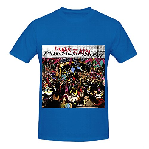 frank-zappa-tinsel-town-rebellion-soundtrack-mens-o-neck-music-t-shirts-blue