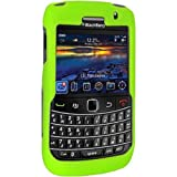 Amzer 85366 Silicone Skinelly Case - Green for BlackBerry Bold 9780, BlackBerry Bold 9700