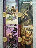 img - for The Rogues Set 1-4 (The Alabaster Staff, The Black Bouquet, The Crimson Gold, The Yellow Silk, Forgotten Realms) book / textbook / text book