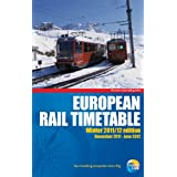 "European Rail Timetablevon ""Thomas Cook Publishing"""
