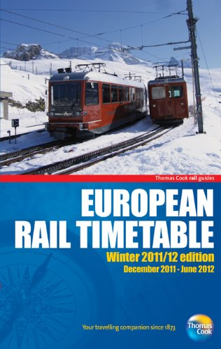 European Rail Timetable Winter 2011/12 (Rail Guides)
