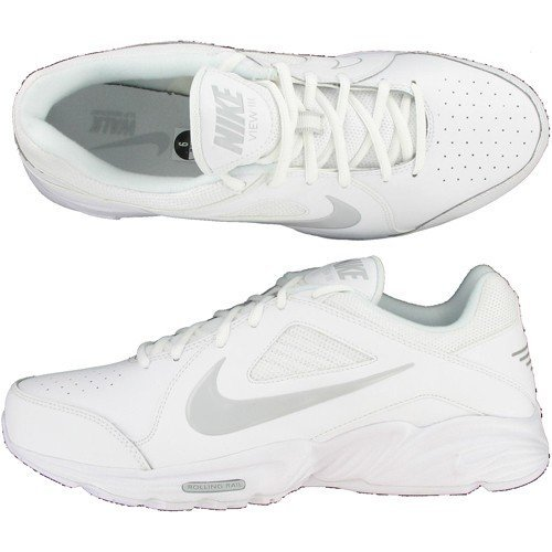 factory price 77c6a 1bb9b Nike Mens View Iii Style 454754 101 Size 9 5 M US White Neutral Grey
