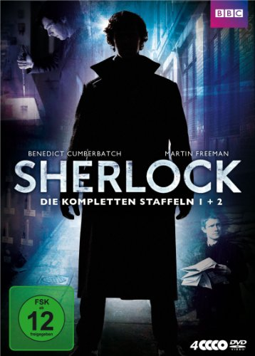 Sherlock - Die kompletten Staffeln 1 + 2 [4 DVDs]