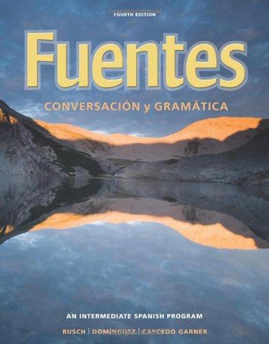 Fuentes: Conversacion y gramática