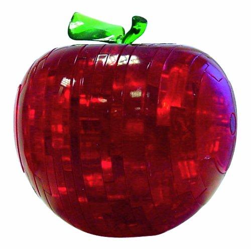 Cristal Puzzle: manzana roja