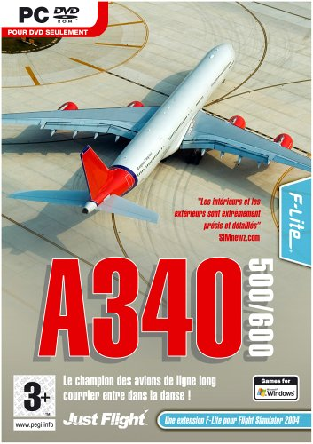 A340-500/600 Expansion pack for Flight Simulator 2004/FSX  (PC)