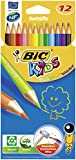 BiC Kids Evolution Colouring Pencils Pack of 12