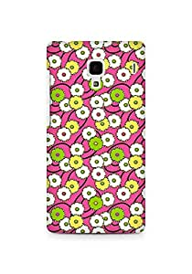 Amez designer printed 3d premium high quality back case cover for Xiaomi Redmi 1S (Dandelion drawing face flowers)