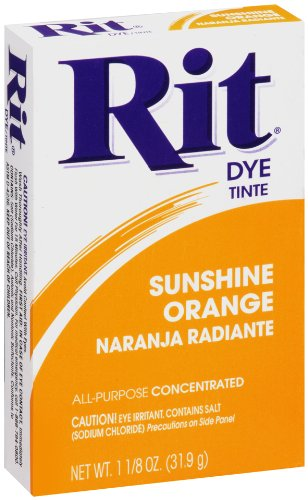 Rit Powder Dye Sunshine Orange  1.125 Ounces (Orange Cloth Dye compare prices)