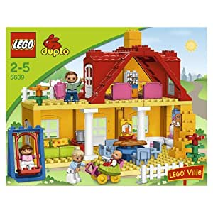 lego duplo legoville family house 5639 toys. Black Bedroom Furniture Sets. Home Design Ideas