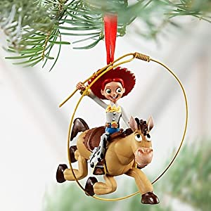 #!Cheap Disney Jessie and Bullseye Toy Story Ornament