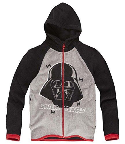 Star Wars-The Clone Wars Darth Vader Jedi Yoda Ragazzi Giacca in pile - grigio - 152
