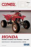 img - for Clymer Honda TRX400EX Fourtrax and Sportrax 1999-2007 (Clymer Motorcycle Repair) book / textbook / text book