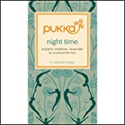 Pukka Herbs Herbal Night Time Tea, 20 tea bags (Pack of 6)