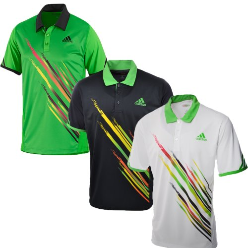 Adidas Mens adiZERO Theme Tennis Polo Shirt - V3903