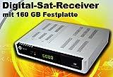SatConn Digital Sat-Receiver mit 160 GB Festplatte CI EPG LP...