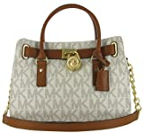Michael Kors EW Satchel Women's MK Logo Handbag Tote Purse