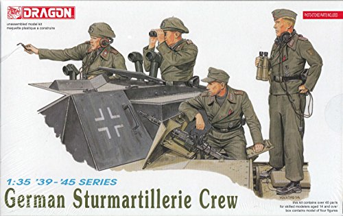 Dragon 1:35 German Sturmartillerie Crew Figure Set #6029 - 1