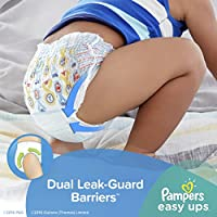 Pampers Easy Ups Training Pants Boys, Value Pack Boys, Size 6 (4T5T), 78 Count from Pampers