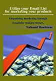 Utilize your Email List for marketing your products: Organizing marketing through Emailsfor making money.